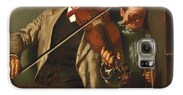 Violin Galaxy S6 Case - The Duet by Mountain Dreams