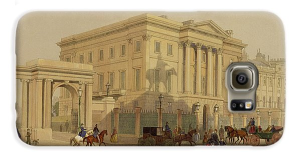 The Exterior Of Apsley House, 1853 Galaxy S6 Case by English School