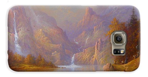 The Fellowship Doors Of Durin Moria.  Galaxy S6 Case by Joe  Gilronan