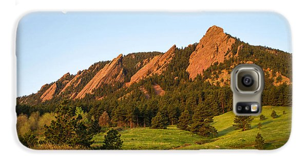 The Flatirons - Spring Galaxy S6 Case