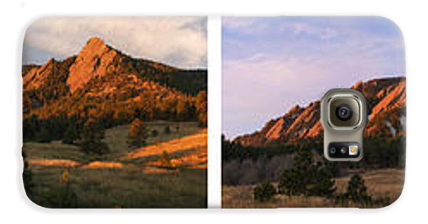 The Flatirons - Four Seasons Panorama Galaxy S6 Case