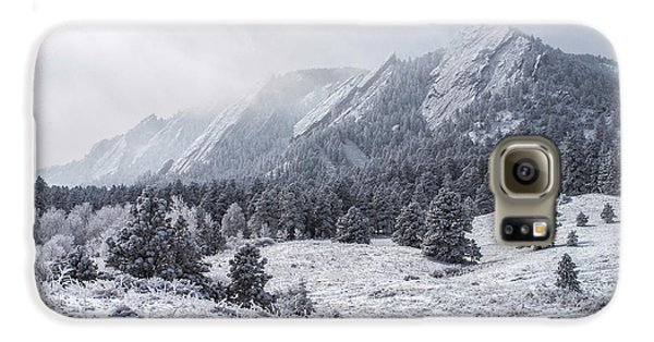 The Flatirons - Winter Galaxy S6 Case