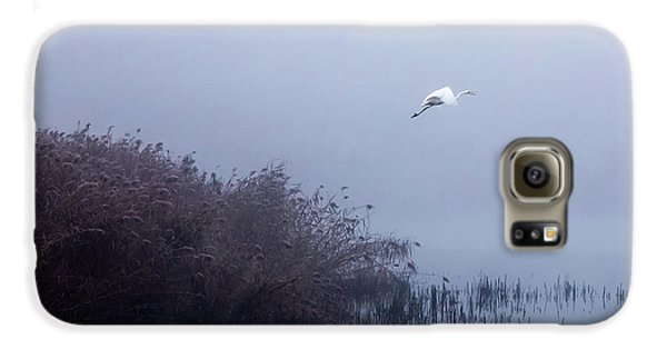 The Flight Of The Egret Galaxy S6 Case