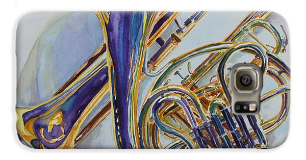 Trombone Galaxy S6 Case - The Glow Of Brass by Jenny Armitage