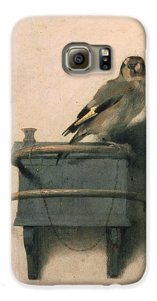 Birds Galaxy S6 Case - The Goldfinch by Carel Fabritius