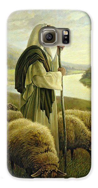 Mammals Galaxy S6 Case - The Good Shepherd by Greg Olsen