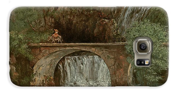The Great Bridge, 1864 Galaxy S6 Case by Gustave Courbet