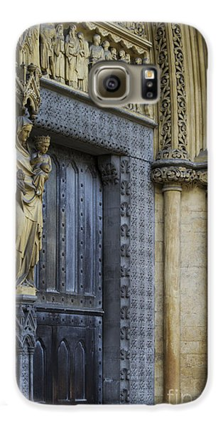 The Great Door Westminster Abbey London Galaxy S6 Case by Tim Gainey