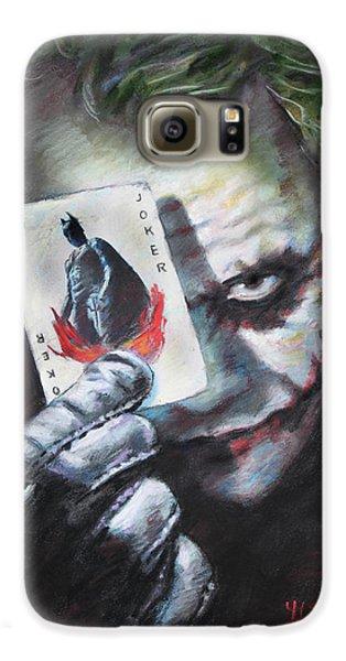 The Joker Heath Ledger  Galaxy S6 Case