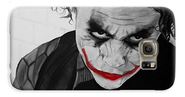The Joker Galaxy S6 Case by Robert Bateman