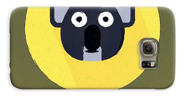 The Koala Cute Portrait Galaxy S6 Case by Florian Rodarte