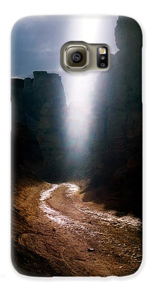 The Land Of Light Galaxy S6 Case by Dubi Roman
