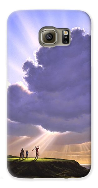 The Legend Of Bagger Vance Galaxy S6 Case by Jerry LoFaro