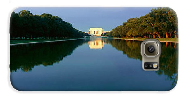 The Lincoln Memorial At Sunrise Galaxy S6 Case by Panoramic Images