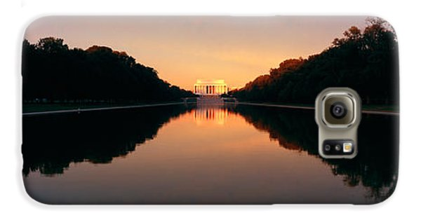 The Lincoln Memorial At Sunset Galaxy S6 Case by Panoramic Images