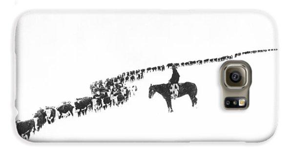 The Long Long Line Galaxy S6 Case