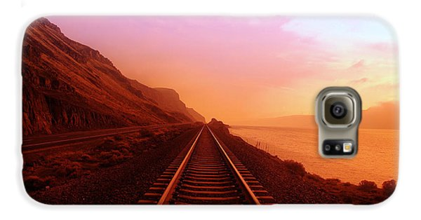 The Long Walk To No Where  Galaxy S6 Case by Jeff Swan