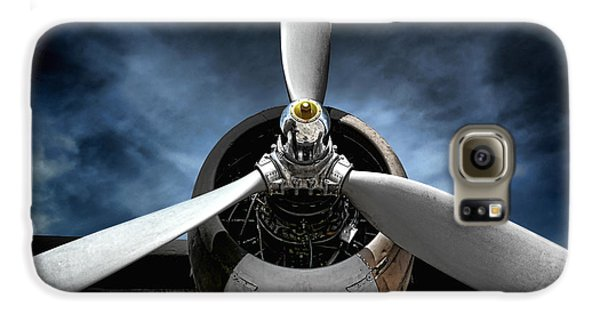 Airplanes Galaxy S6 Case - The Mission by Olivier Le Queinec