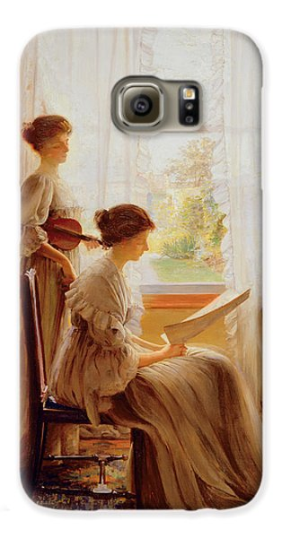 The Music Lesson, C.1890 Galaxy S6 Case by American School