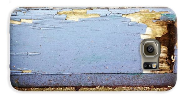 Blue Galaxy S6 Case - The Old Door by Christy Beckwith