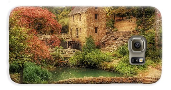 The Old Mill In Autumn - Arkansas - North Little Rock Galaxy S6 Case