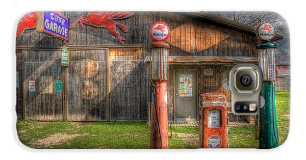 Pegasus Galaxy S6 Case - The Old Service Station by David and Carol Kelly