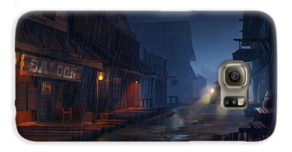 Truck Galaxy S6 Case - The Phantom 309 by Kristina Vardazaryan