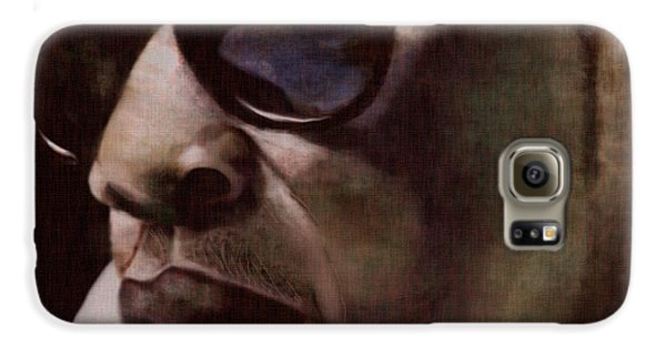 The Pied Piper Of Intrigue - Jay Z Galaxy S6 Case by Reggie Duffie