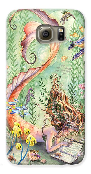 The Prayer Galaxy S6 Case by Sara Burrier