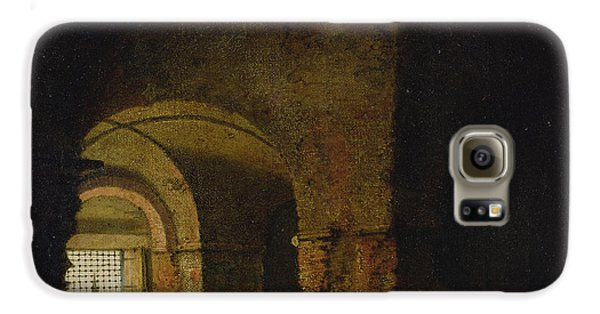 Dungeon Galaxy S6 Case - The Prisoner, C.1787-90 Oil On Canvas by Joseph Wright of Derby