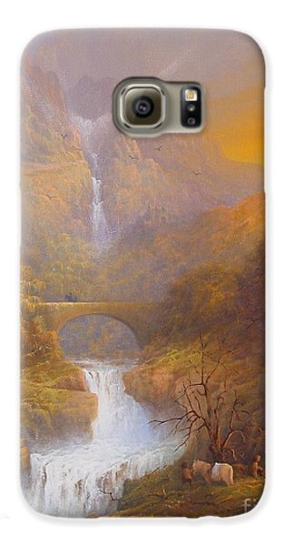 The Road To Rivendell The Lord Of The Rings Tolkien Inspired Art  Galaxy S6 Case by Joe  Gilronan