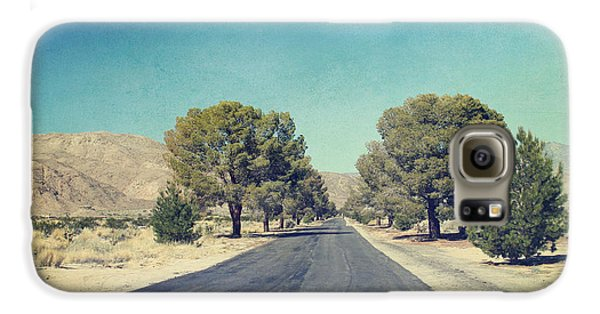 Desert Galaxy S6 Case - The Roads We Travel by Laurie Search