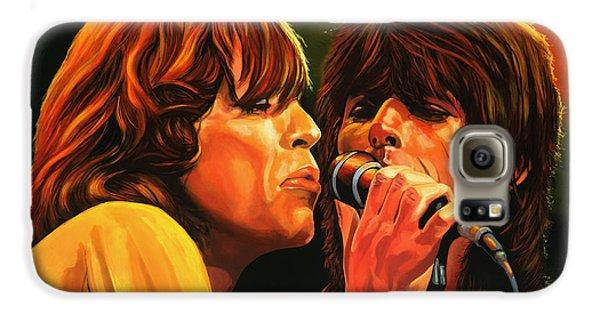 The Rolling Stones Galaxy S6 Case by Paul Meijering