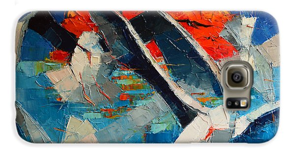 The Seagulls 2 Galaxy S6 Case by Mona Edulesco