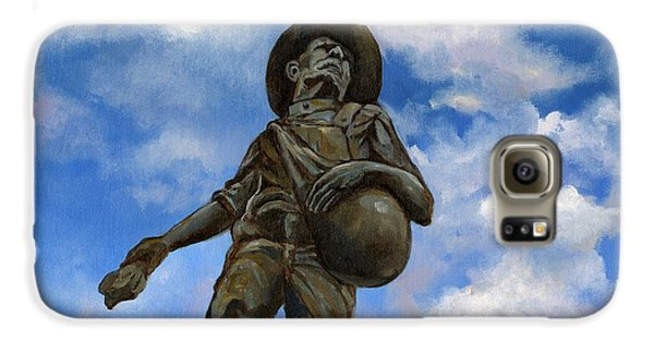 The Seed Sower Galaxy S6 Case by Linda Dunbar