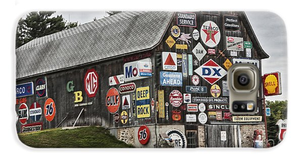 Galaxy S6 Case featuring the photograph The Sign Barn by Ricky L Jones