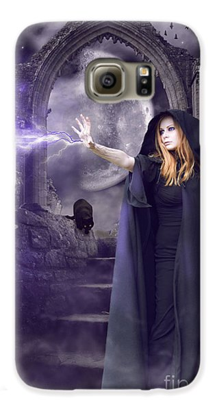The Spell Is Cast Galaxy S6 Case by Linda Lees