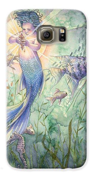 Seahorse Galaxy S6 Case - The Talisman by Sara Burrier