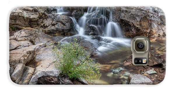 The Top Of Carr Canyon Falls Galaxy S6 Case
