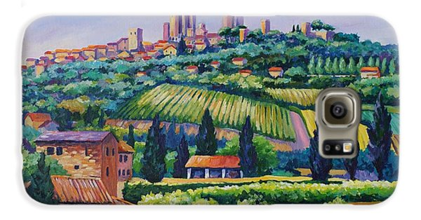 The Towers Of San Gimignano Galaxy S6 Case
