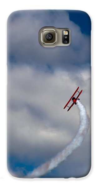 Airplane Galaxy S6 Case - The Vapor Trail by David Patterson