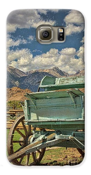 The Wagon Galaxy S6 Case by Peggy Hughes