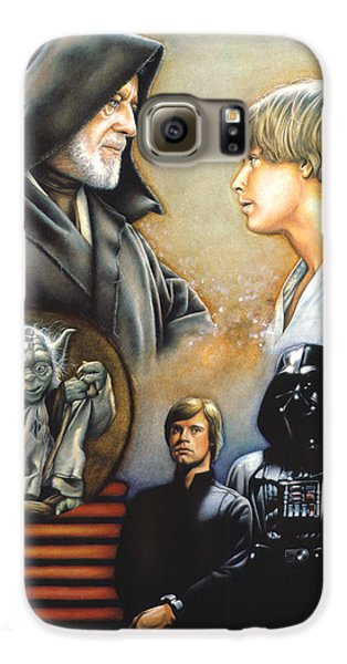 Knight Galaxy S6 Case - The Way Of The Force by Edward Draganski