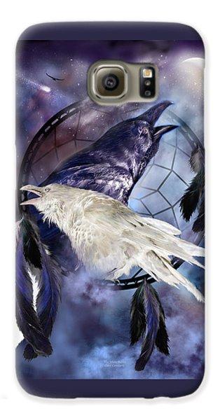 The White Raven Galaxy S6 Case by Carol Cavalaris