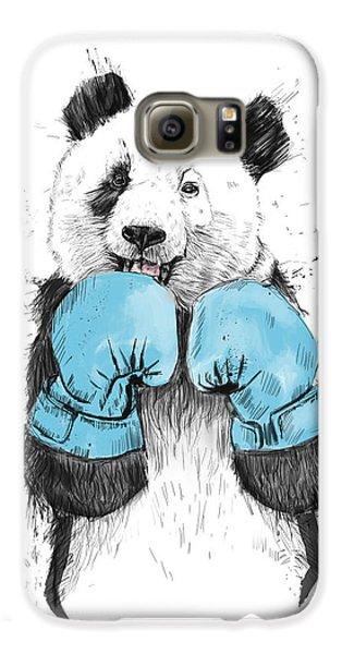 Animals Galaxy S6 Case - The Winner by Balazs Solti