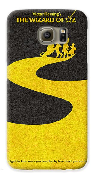 Wizard Galaxy S6 Case - The Wizard Of Oz by Inspirowl Design