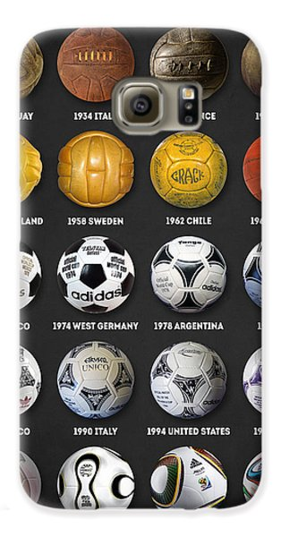 The World Cup Balls Galaxy S6 Case