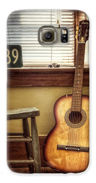 Guitar Galaxy S6 Case - This Old Guitar by Scott Norris