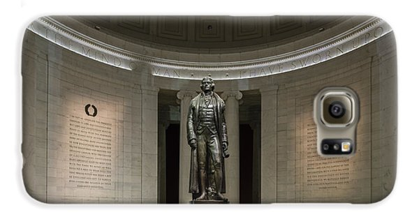 Galaxy S6 Case featuring the photograph Thomas Jefferson Memorial At Night by Sebastian Musial