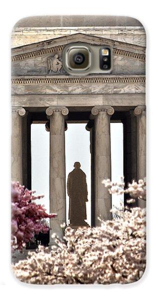 Jefferson Memorial Galaxy S6 Case - Thomas Jefferson by Mitch Cat